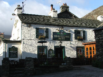The Travellers Rest Pub in Glenridding