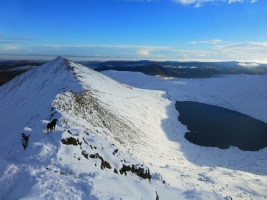 Helvellyn in the Snow - November 2012