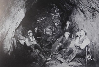 Miners at Greenside Mine