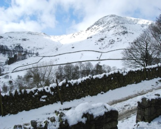 View from cottages in the snow - Photo courtesy of Julia Knox