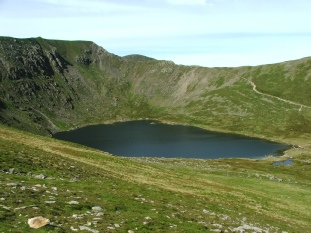 Red Tarn from Striding Edge - © Rob Shephard 2007